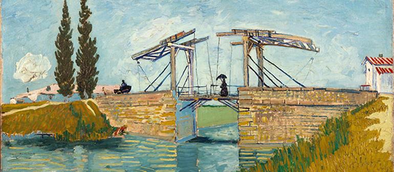 Il ponte di Langlois di Van Gogh