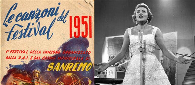 Sanremo nel 1951