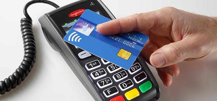 Le carte di credito contactless